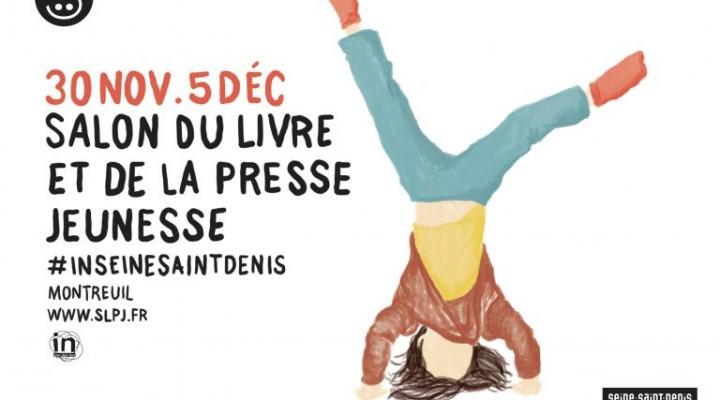 Le salon du livre et de la presse jeunesse de Montreuil 2016