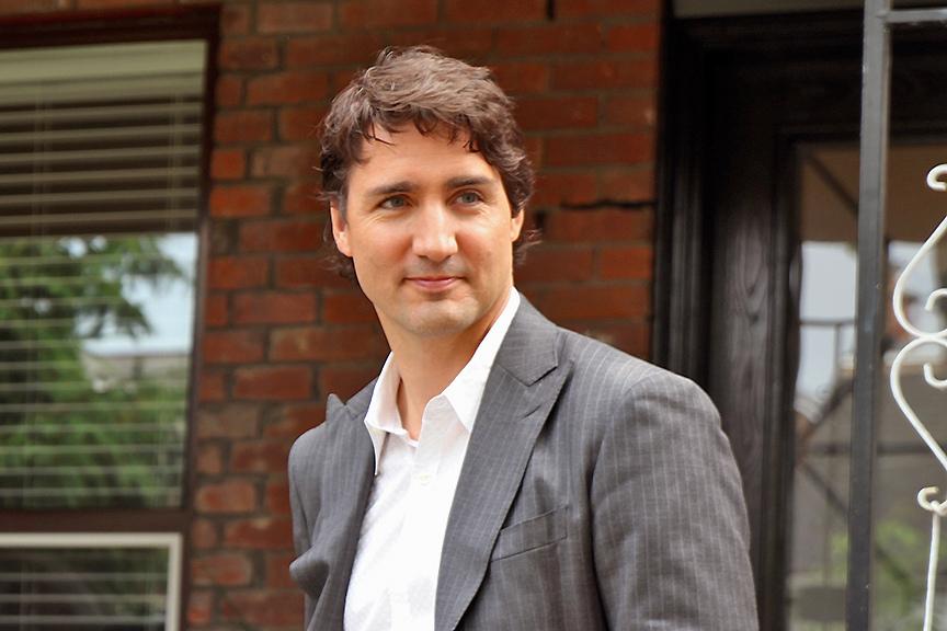 Zoom sur Justin Trudeau