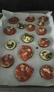 recette saine pizza base courgette