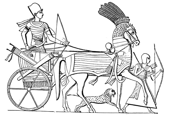 Char d'Egypte