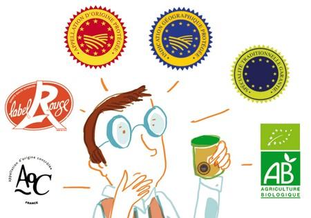 Les labels de qualité agroalimentaires français