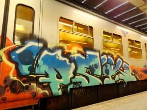Graffiti d'un graffeur belge