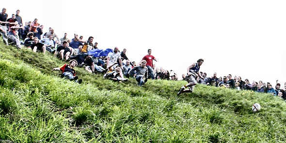Course de cheese rolling