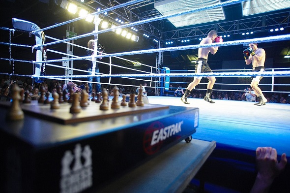 Ring de chessboxing