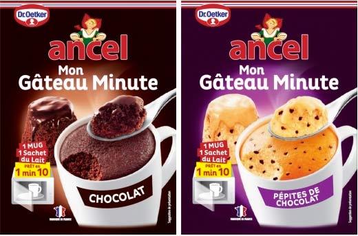 Gâteau minute Ancel