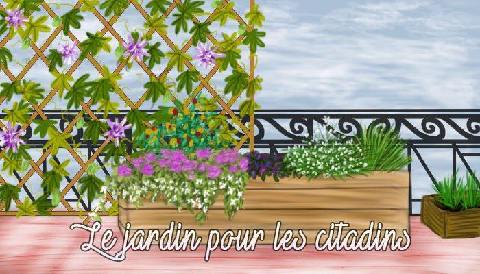 Le jardinage pour les citadins