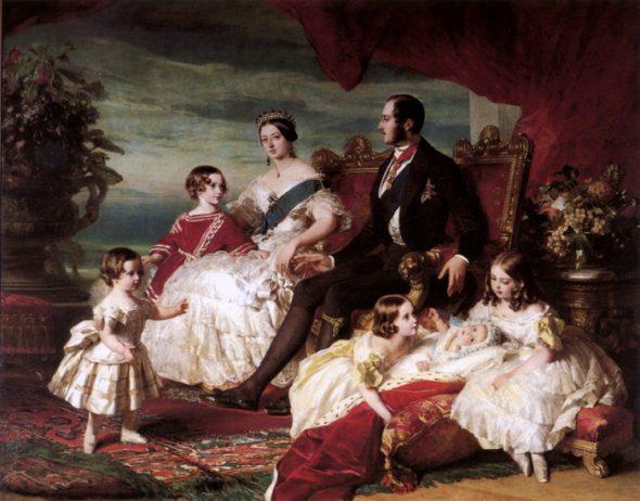 Portrait de la reine Victoria