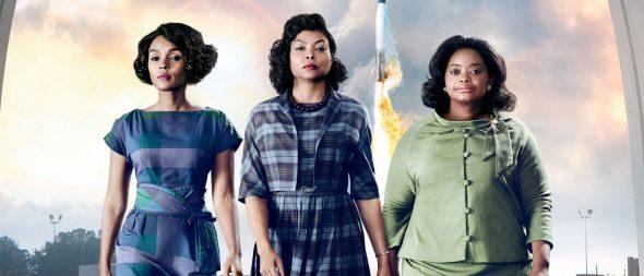 Affiche du film Hidden Figures / les figures de l'ombre, présentant les 3 héroïnes