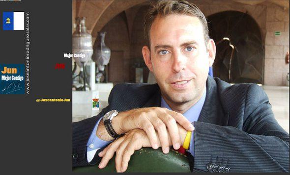 José Antonio Rodríguez Salas maire de Jun en Espagne