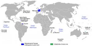 carte Outre-mer