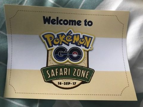 Pokémon Go Safari Zone : Paris, le 16 septembre 2017