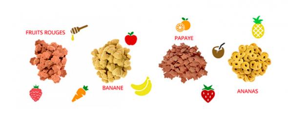 Des friandises aux goûts variés