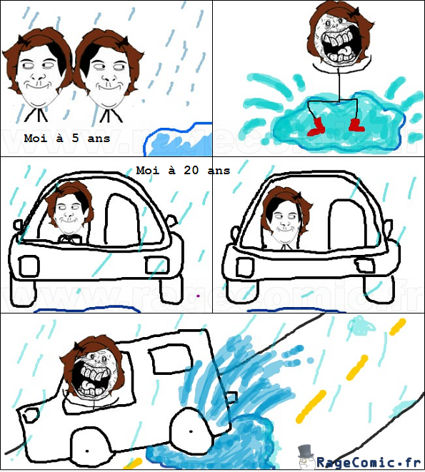 Sélections de la route rage comics 1