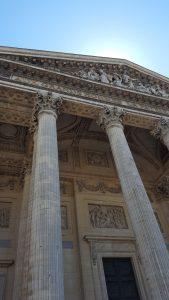 Entrée du Panthéon