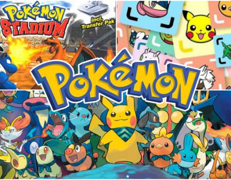 Les jeux dérivés de la saga Pokémon, partie 1
