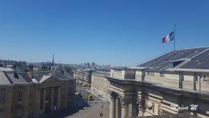 Espace extérieur du Panthéon