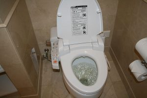 Des toilettes modernes