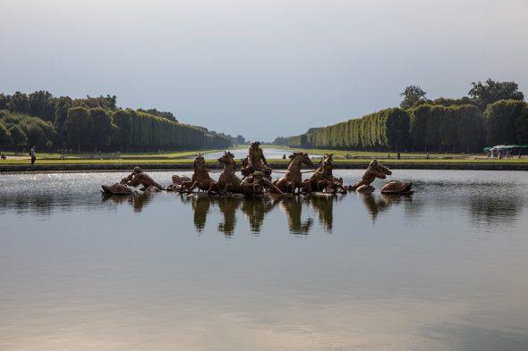 Le site retenu dans la candidature de Paris 2024 pour l'équitation aux JO était Versailles