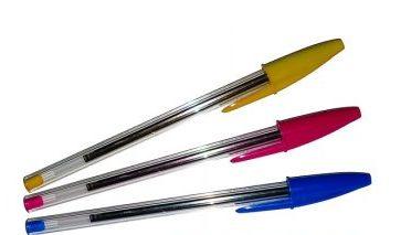 Dessiner avec des stylos billes