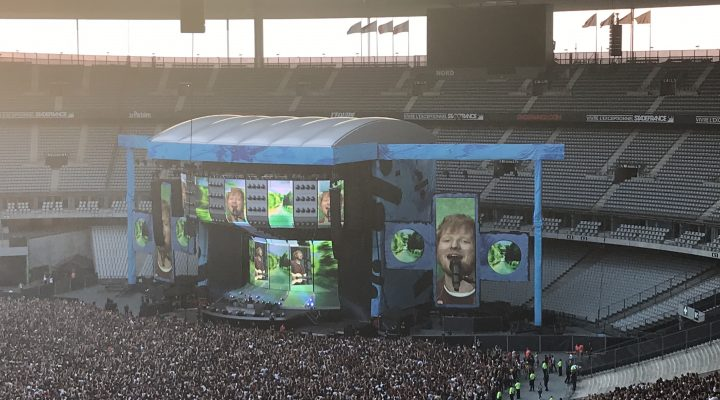 The Divide Tour d'Ed Sheeran au Stade de France