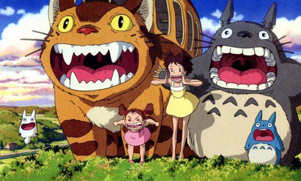 quelques personnages du film mon voisin totoro