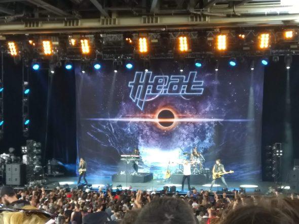 Concert de H.E.A.T à la Hard Rock Session 2018