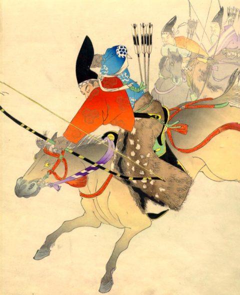 Le bajustu chez les samouraïs