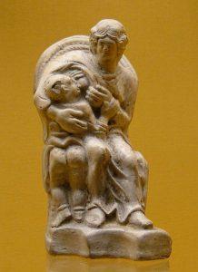 Statue de la Déesse mère