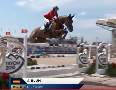 Résultats des Jeux équestres mondiaux 2018