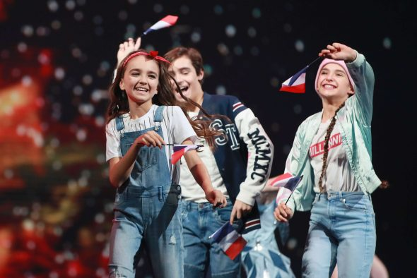 Angelina Nava a représenté la France au concours de l'Eurovision Junior