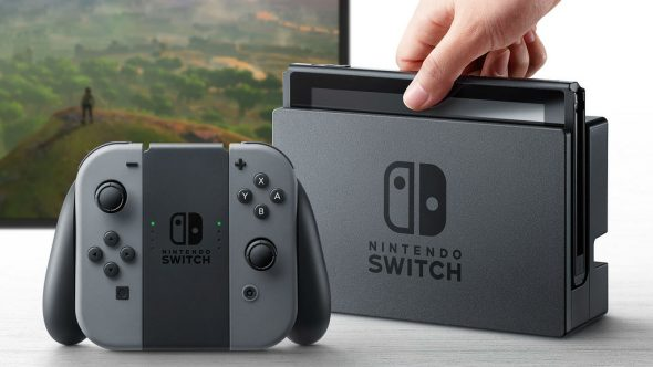 La Nintendo Switch en mode sur table