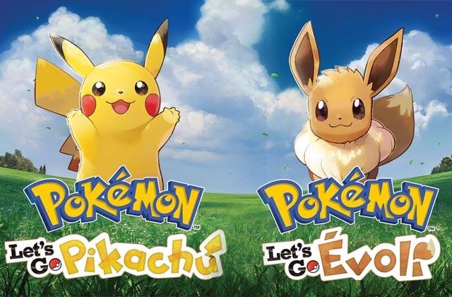 Pokémon Let's Go Pikachu & Pokémon Let's Go Évoli