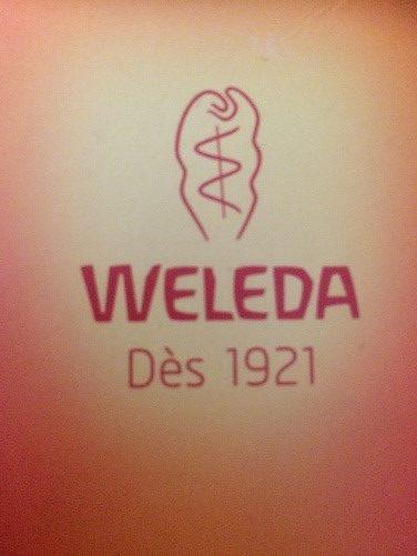 Logo marque Weleda