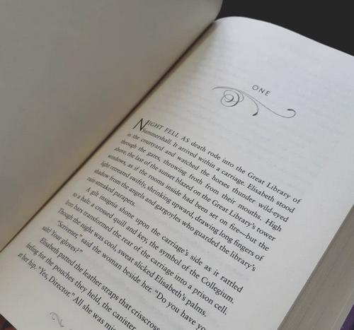 Lecture du premier chapitre