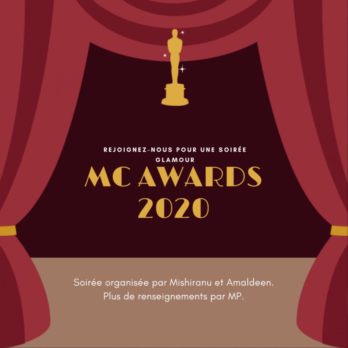 Potins : édition MC Awards 2020