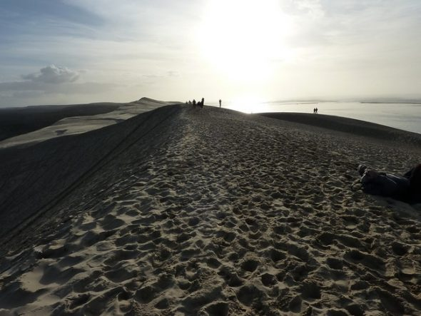 sommet de la dune du pyla