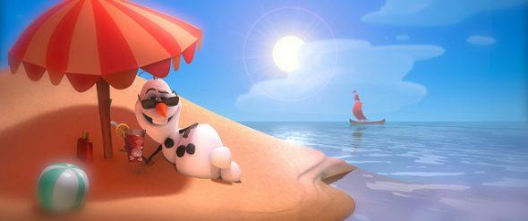 Olaf au soleil
