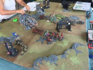 Table de jeu warhammer