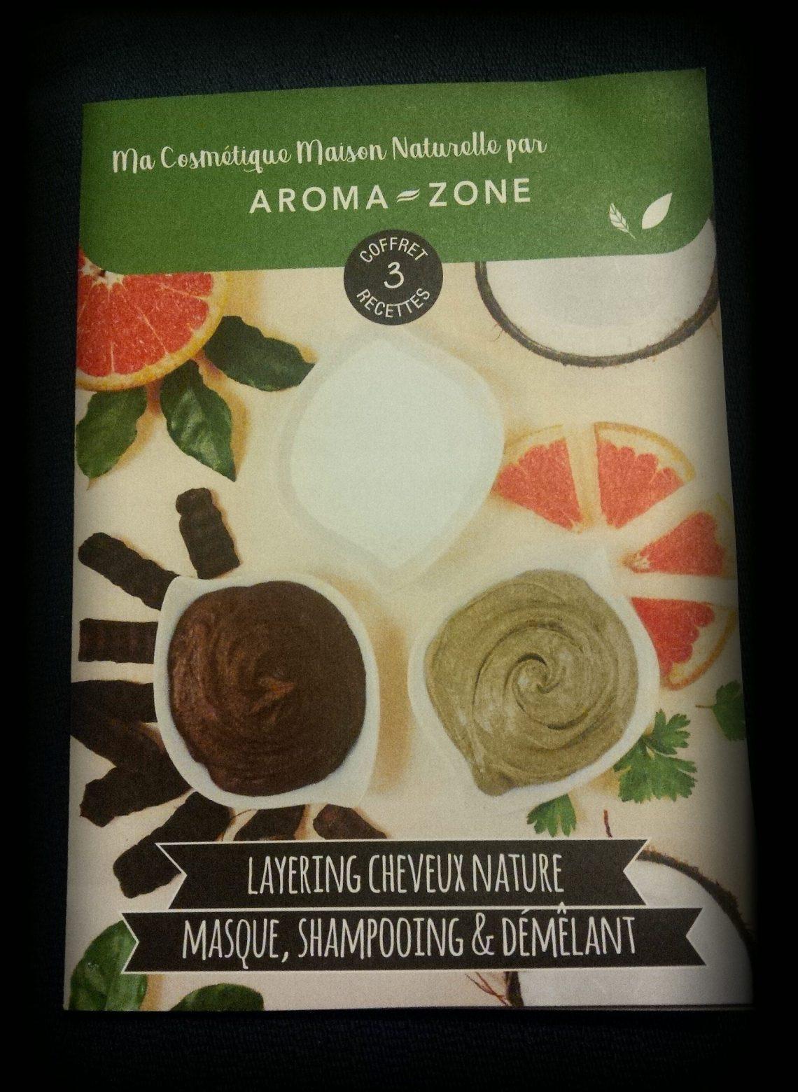 Mon avis sur le coffret cosmétique pour cheveux d'Aroma-Zone