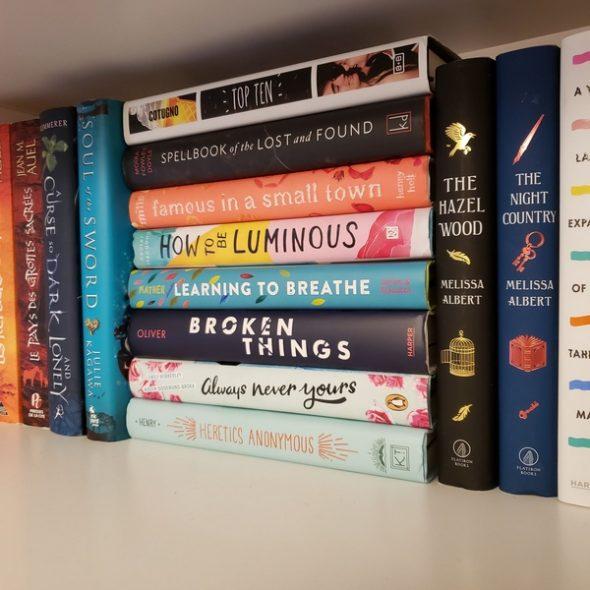 Piles de livres à lire