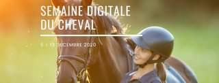 Bannière de la semaine digitale du cheval