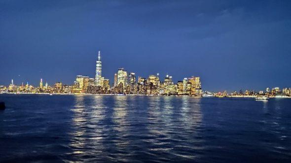 New York du bateau