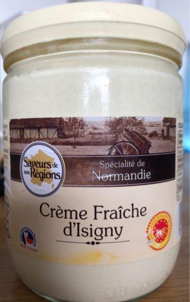 Crème fraiche d'isigny spécialité normandie