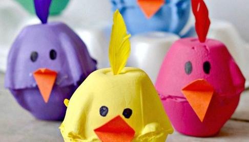 Bricolages de Pâques à faire avec les enfants