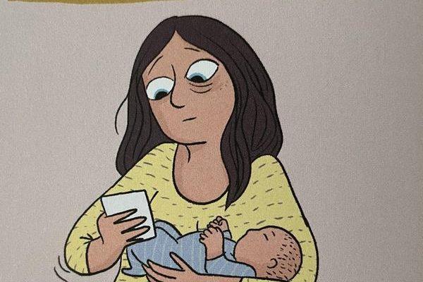 La Remplaçante – Un récit en BD sur le post-partum