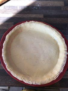Cuisson pâte tarte à la tomate à blanc