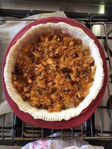 Pâte tarte à la tomate oignons chorizo