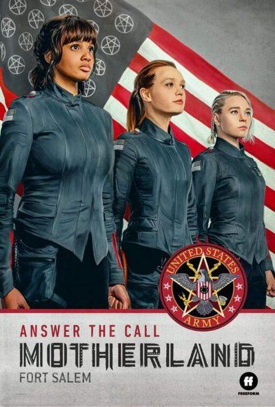 sorcières, armée, américain, série, pouvoirs magiques