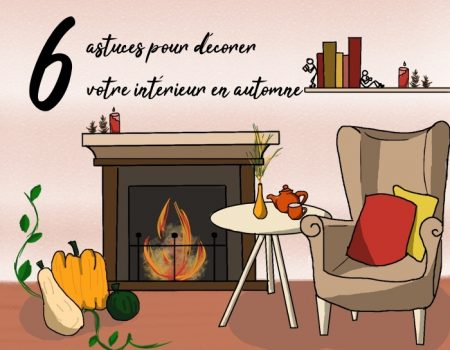 6 astuces pour décorer votre intérieur en automne