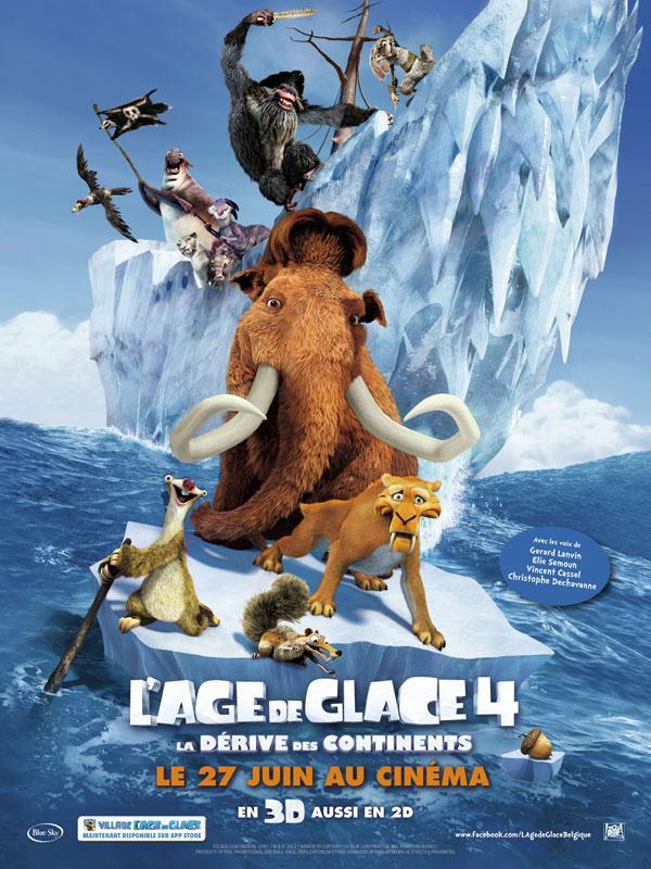 Poster du film L'âge de glace 4